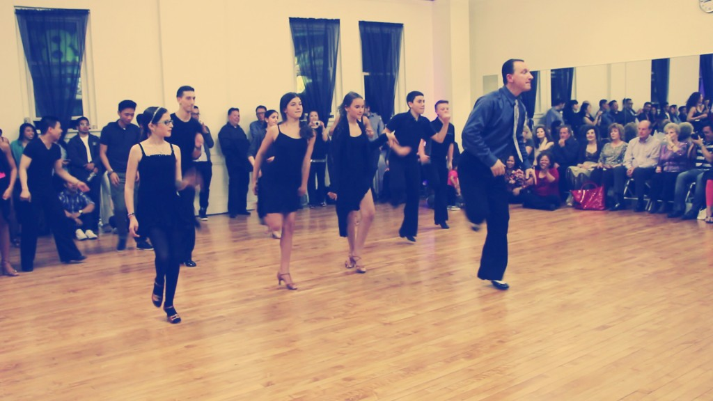 Happy Pharrell Group Dance Spencer Nyemchek Dancesport Ballroom Dance Grand Opening