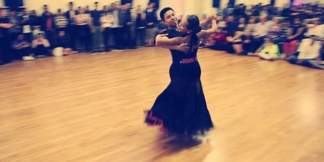 Jaryd Farcon & Kyla Dzhaniashvili Spencer Nyemchek Dancesport Ballroom Dance Grand Opening