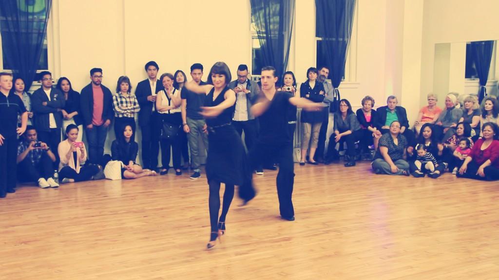 Kiki Nyemchek & Magda Fialek Spencer Nyemchek Dancesport Ballroom Dance Grand Opening